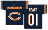 NFL Chicago Bears 2-Sided Jersey Banner Flag