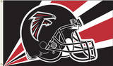 NFL Atlanta Falcons Flag with Grommets Flag