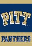 NCAA Pittsburgh Panthers 2-Sided House Banner Flag