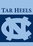 NCAA North Carolina Tar Heels 2-Sided Garden Flag Flag