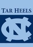 NCAA North Carolina Tar Heels 2-Sided Garden Flag Flag