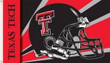 NCAA Texas Tech Red Raiders Helmet Flag with Grommets Flag
