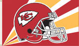 NFL Kansas City Chiefs Flag with Grommets Flag