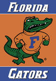 NCAA Florida Gators 2-Sided House Banner Flag