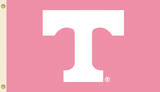 NCAA Tennessee Volunteers Pink Design Flag with Grommets Flag