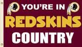 NFL Washington Redskins Flag with Grommets Flag