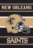 NFL New Orleans Saints 2-Sided House Banner Flag