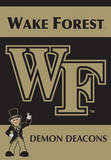 NCAA Wake Forest 2-Sided House Banner Flag