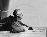 President Franklin Delano Roosevelt on board an American Warship 1935 Photo