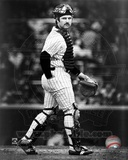 Thurman Munson - Catchers Gear (Sepia) Photo