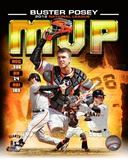Buster Posey 2012 National League MVP Composite Photo