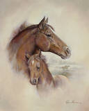 Race Horse II Art by Ruane Manning