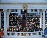 President John F. Kennedy's Inaugural Address, Washington, DC., 1961 Photo