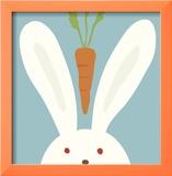Kuckuck I - hier ist der Hase Kunstdruck von Yuko Lau