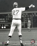 Carlton Fisk - Game Six Home Run from the 1975 World Series Photo