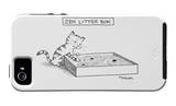 The New Yorker - Zen Litter Box - iPhone 5 Cover iPhone 5 Case by Pat Byrnes