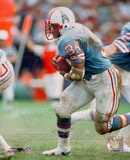 Earl Campbell - Running with ball Fotografa