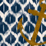 Nautical Ikat I Prints by Patricia Quintero-Pinto