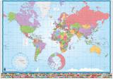 Sous-main Carte du Monde Artículos de regalo
