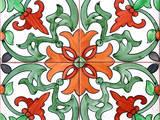 Spanish Tiles I Prints by Jairo Rodriguez