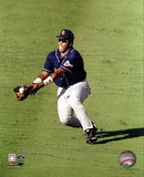 Tony Gwynn - 1998 Fielding Action Photo