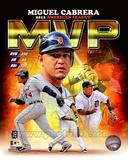Miguel Cabrera 2012 American League MVP Composite Photo