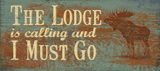 The Lodge Print by Jo Moulton
