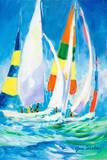 Come Sail Away Poster av Jane Slivka