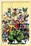 Avengers Classics 1 Cover: Hulk Prints by Adams Art