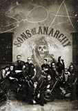 Sons of Anarchy Vintage Huge TV Poster Prints
