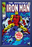 The Invincible Iron Man 1 Cover: Iron Man Prints by Colan Gene
