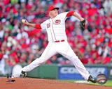 Mat Latos 2013 Action Photo