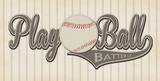 Play Ball Prints by Stephanie Marrott