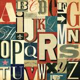 ABC Print by Stella Bradley