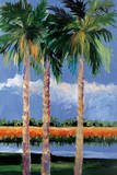 Palm Coast Poster by Jane Slivka