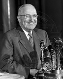Harry Truman Press Conference, Savoy Hotel, London 1956 Photo