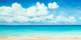 Ocean View Poster von Patricia Quintero-Pinto