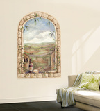 Tuscan View Accent Wall Decal Wallpaper Mural