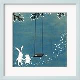 Follow Your Heart- Let's Swing Kunstdrucke von Kristiana Pärn