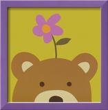 Peek-a-Boo VI, Bear Poster von Yuko Lau