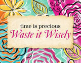 Waste it Wisely Prints by Rebecca Lyon