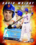 David Wright New York Mets All-Time Hits Leader Composite Photo