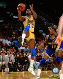 Magic Johnson 1989 Action Photographie