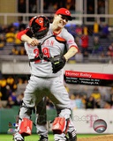 Homer Bailey No-Hitter September 28, 2012 Photo