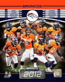 Denver Broncos 2012 Team Composite Photo
