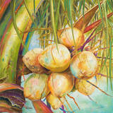 Patricia's Coconuts I Posters by Patricia Pinto