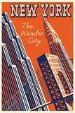 NY The Wonder City Prints