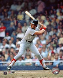 Fred Lynn Batting Action Photo