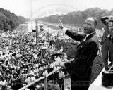 Martin Luther King, Jr. Speech, Washington, DC., 1963 Photo