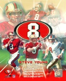Steve Young - Legends of the Game Composite Photo